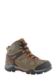 Hi-Tec Altitude VI Lite WP Boots — Kids', Smokey Brown/Taupe/Red Rock, hi-res