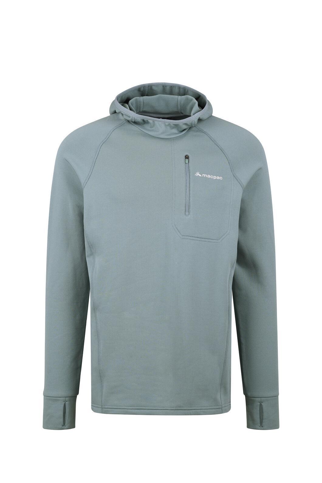 Macpac Traction Pontetorto® Pullover Hoody - Men's, Stormy Sea, hi-res