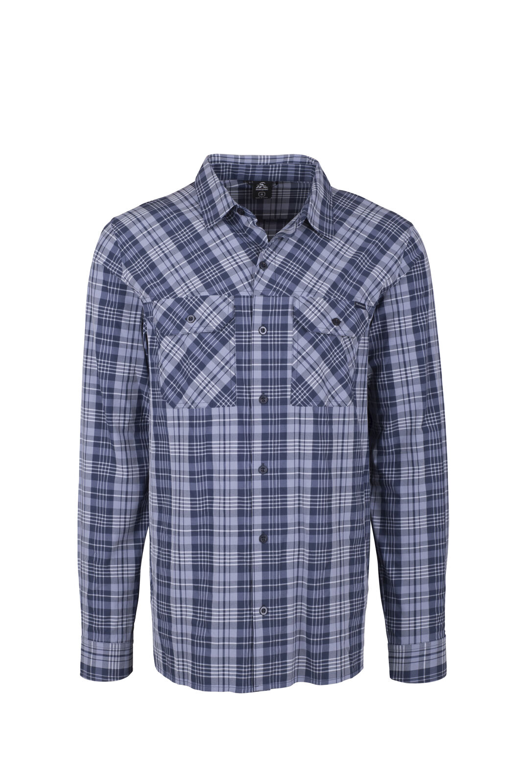 Macpac Eclipse Long Sleeve Shirt - Men's, Black Iris, hi-res