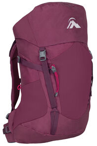Macpac Torlesse 30L Jr Pack, Rhodo/Windsor, hi-res