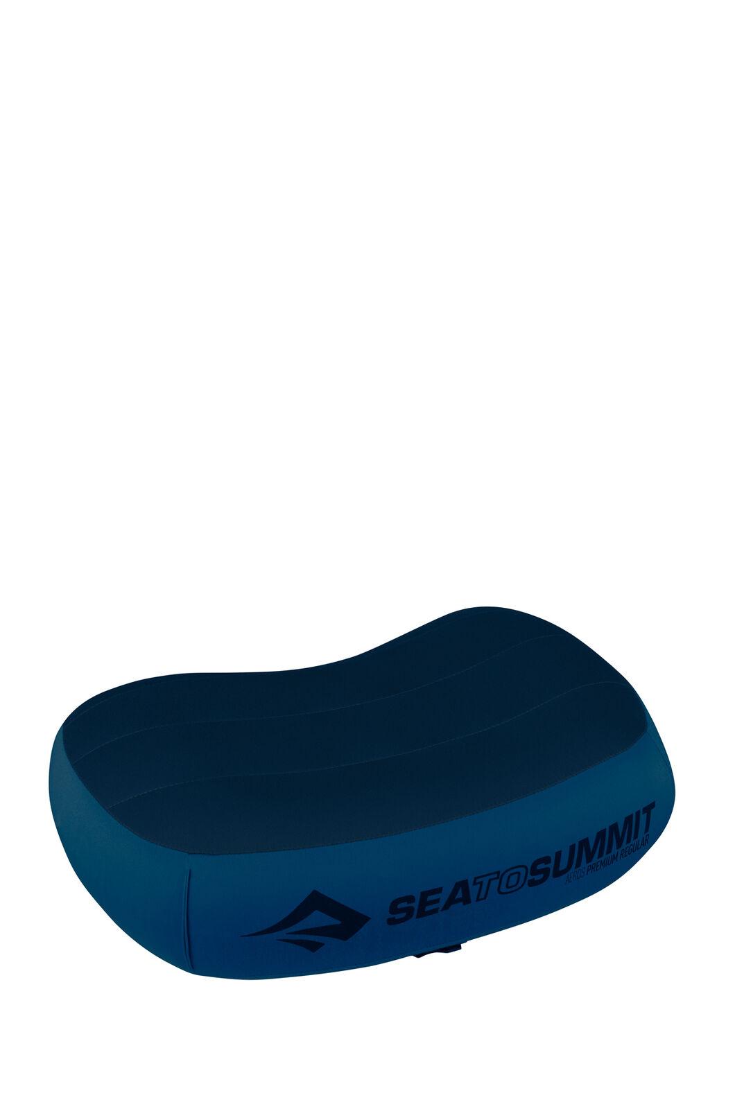 Sea to Summit Aeros Premium Pillow — Regular, Navy, hi-res