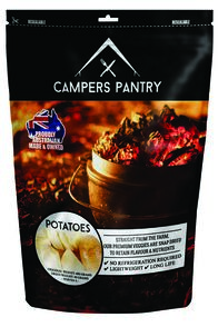 Campers Pantry 40g Dried Potatoes Freeze Dried Food (1 Serve), None, hi-res