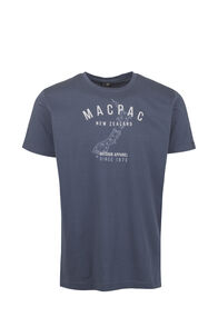 Macpac Outdoor Apparel Organic Tee - Men's, Mood Indigo, hi-res