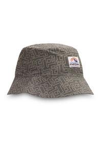Macpac Winger Reversible Bucket Hat, Deep Lichen Green/Trooper, hi-res