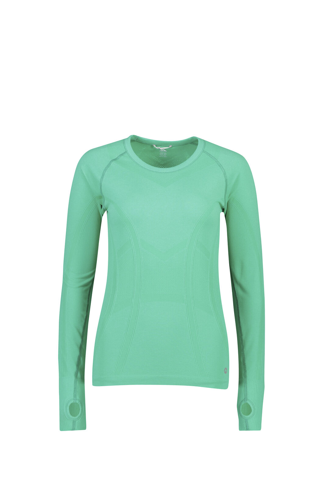 Macpac Limitless Long Sleeve Tee - Women's, Deep Green, hi-res