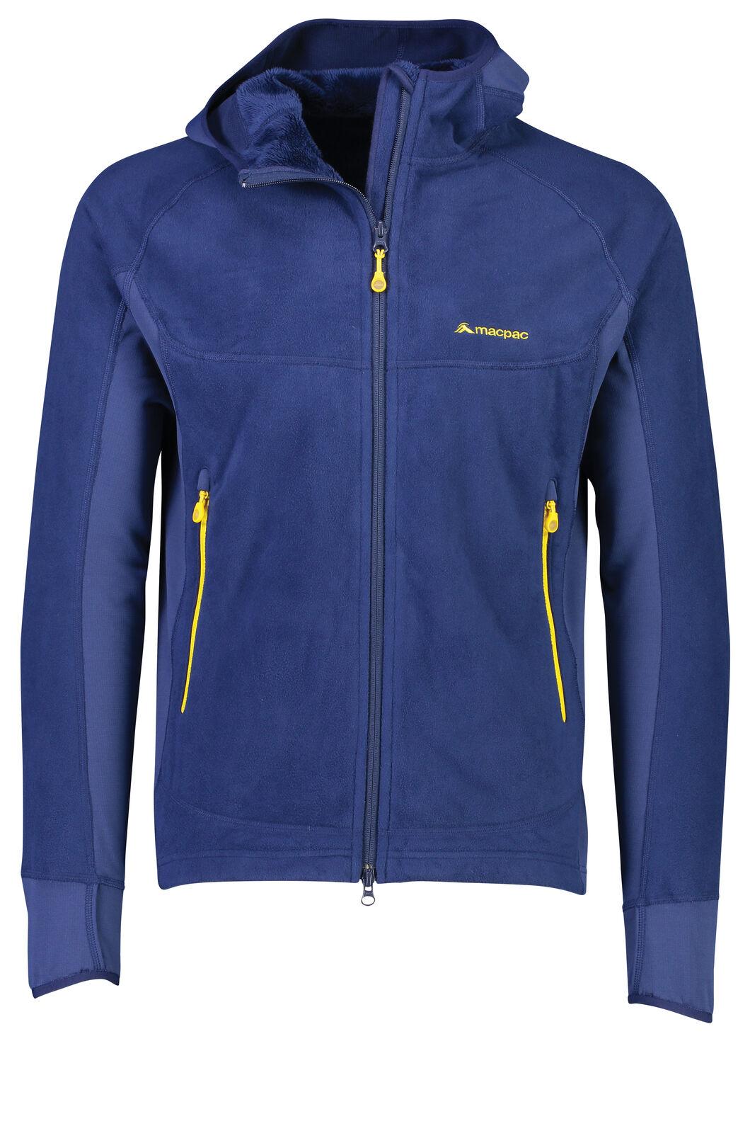 Mountain Hooded Pontetorto® Fleece Jacket - Men's, Medieval/Lemon Curry, hi-res