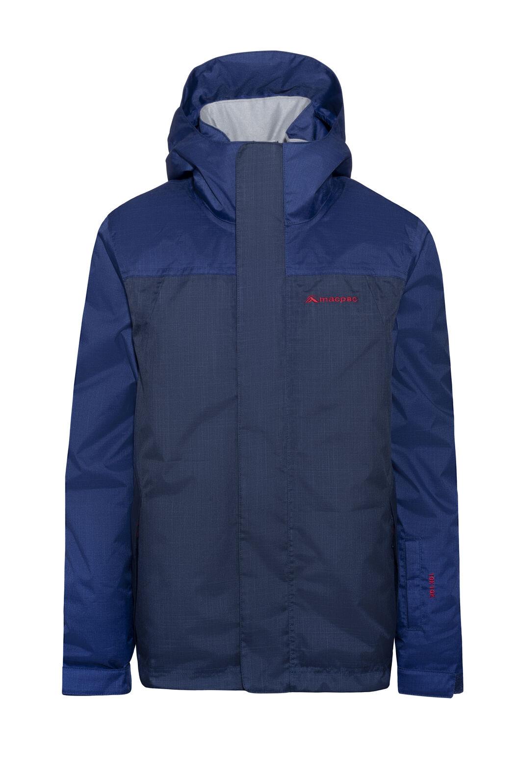 Macpac Spree Reflex™ Ski Jacket — Kids', Blueprint/Black Iris, hi-res