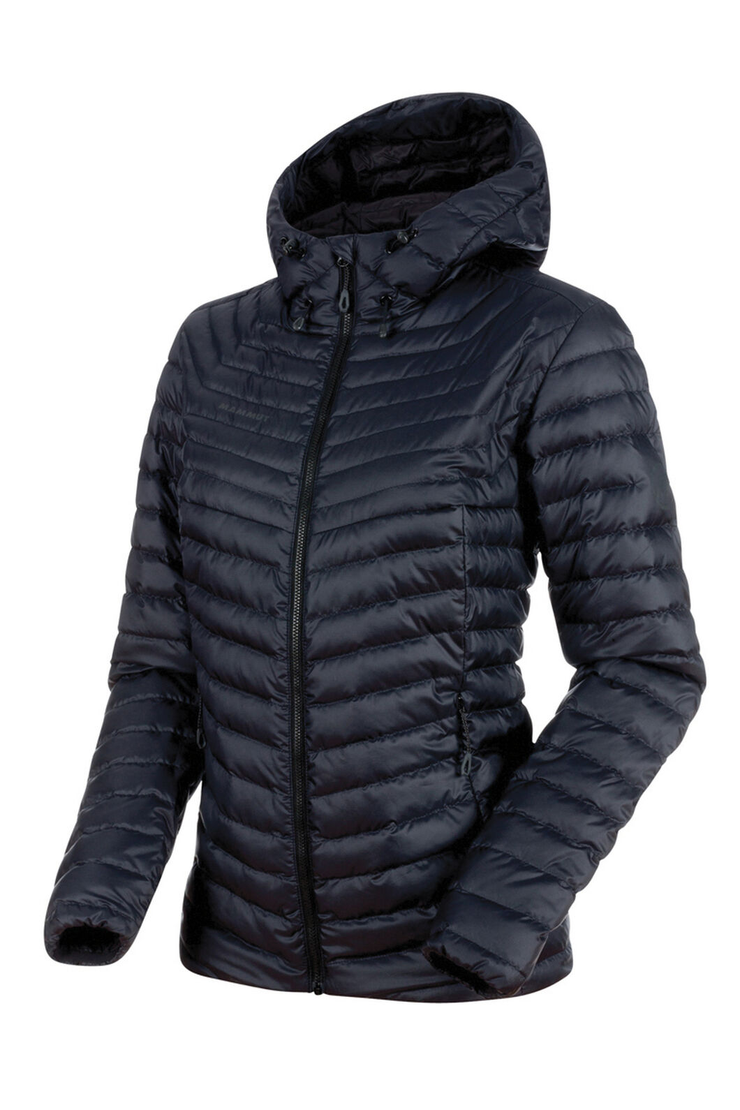 Mammut Convey Insulated Hooded Jacket - Women's, Black/Phantom, hi-res