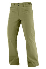 Salomon Men's Brilliant Ski Pants, Martini Olive, hi-res