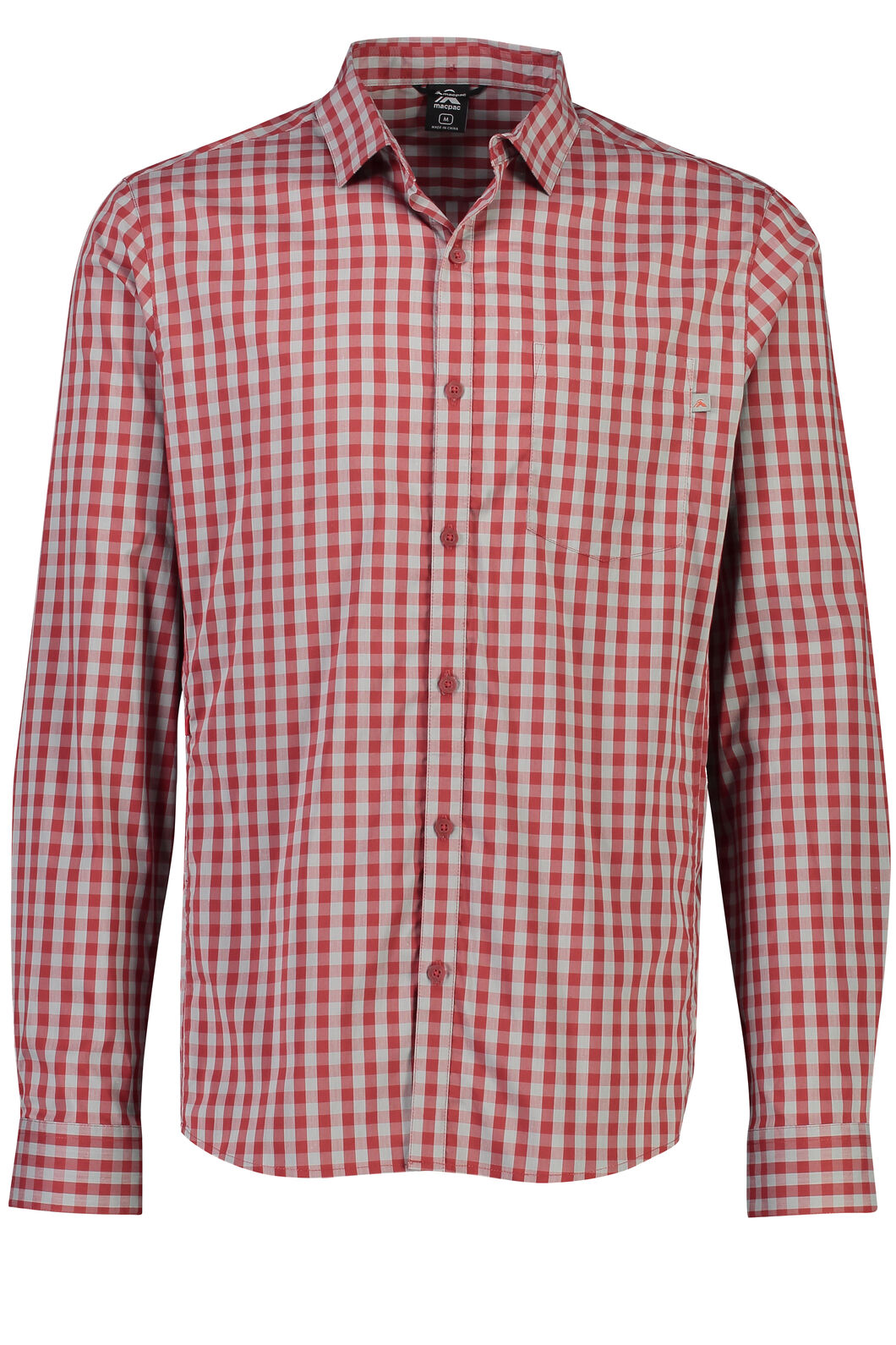 Crossroad Long Sleeve Shirt - Men's, Sundried Tomato, hi-res