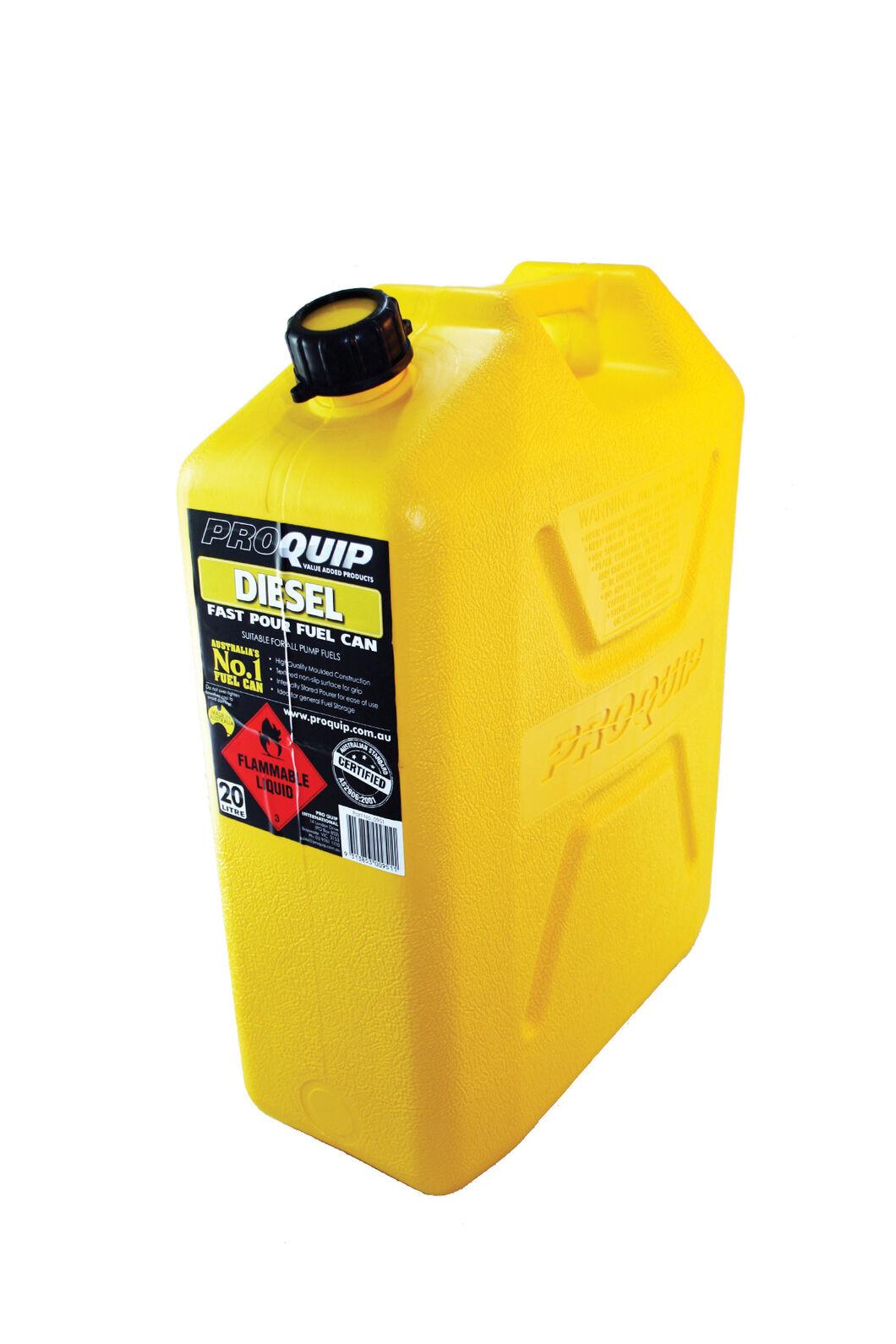 Pro Quip 20L Plastic Diesel Jerry Can, None, hi-res