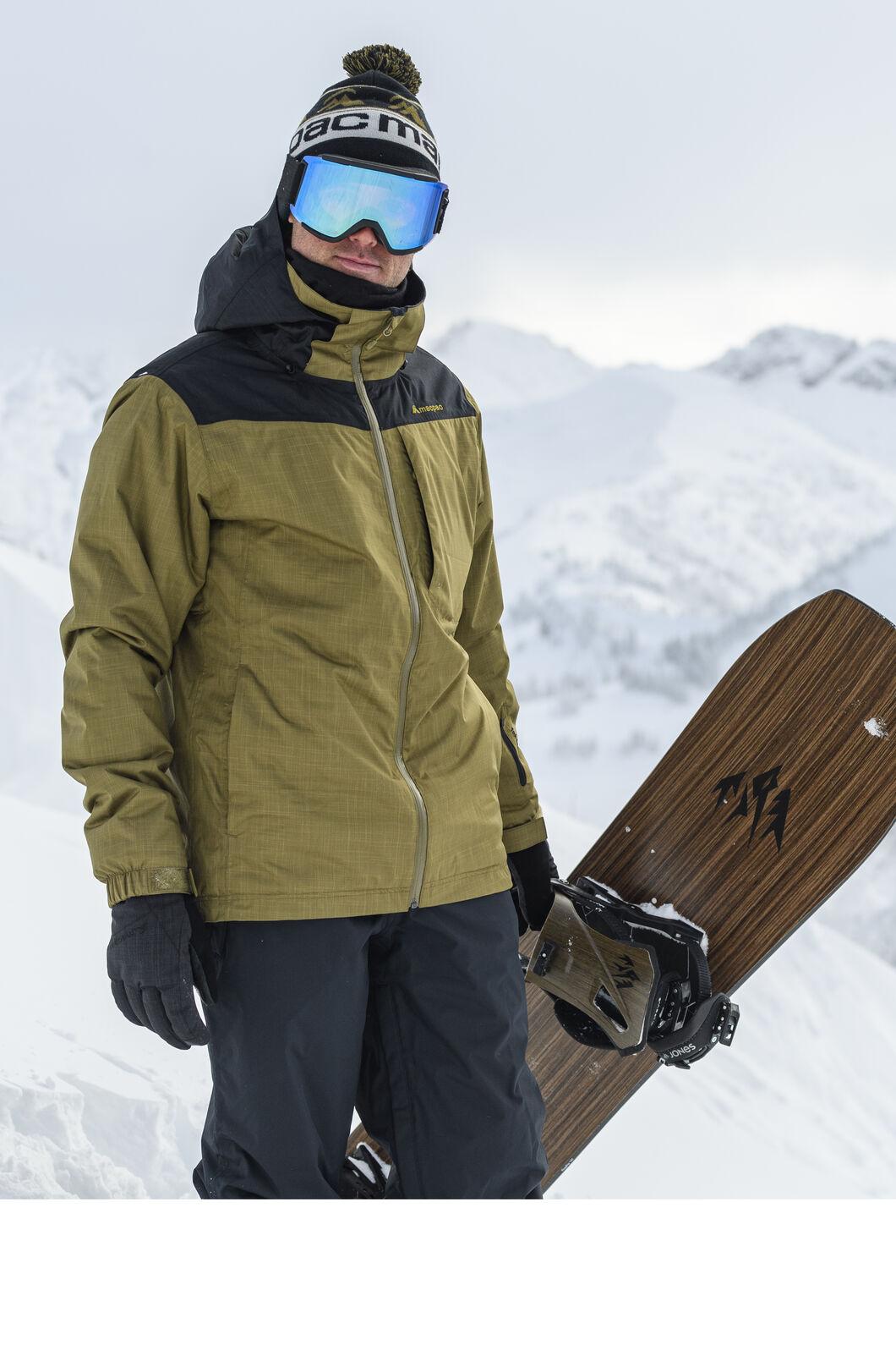 Macpac Men's Powder Reflex™ Ski Jacket, Black, hi-res