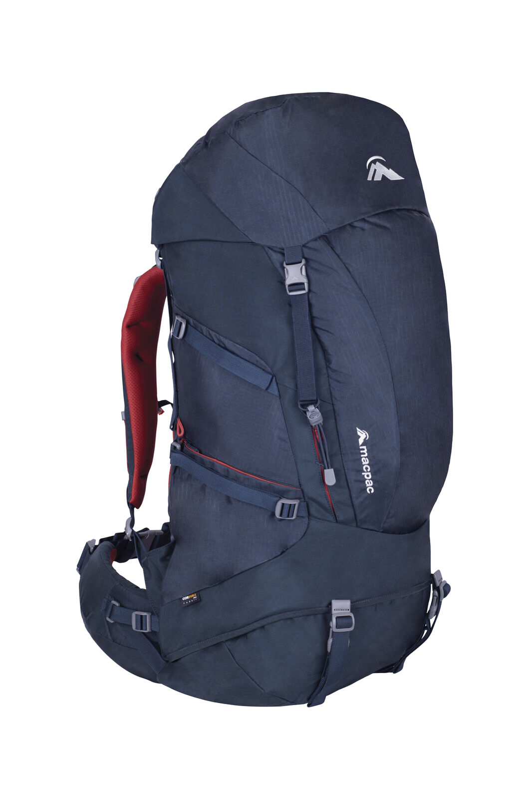 Torlesse 50L Hiking Pack, Carbon, hi-res