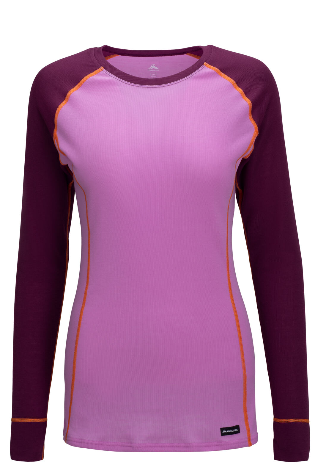 Macpac Geothermal Long Sleeve Top — Women's, Amaranth/Orchid, hi-res