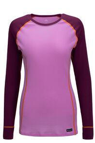 Macpac Women's Geothermal Long Sleeve Top, Amaranth/Orchid, hi-res