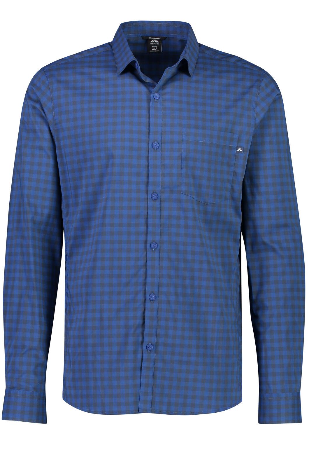 Crossroad Long Sleeve Shirt - Men's, Black Iris, hi-res