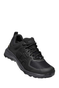 KEEN Explore WP Hiking Shoes — Men's, Black/Magnet, hi-res
