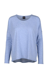 Macpac Eva Long Sleeve Tee - Women's, Riviera, hi-res
