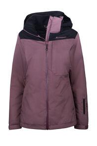 Macpac Powder Reflex™ Ski Jacket — Women's, Rose Brown/Black, hi-res