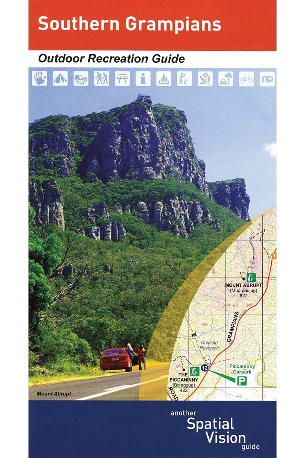 Hema South Grampians Recreation Guide, None, hi-res