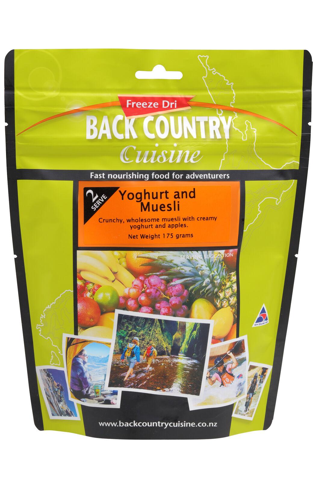 Back Country Yogurt & Muesli - 2 Serves, None, hi-res
