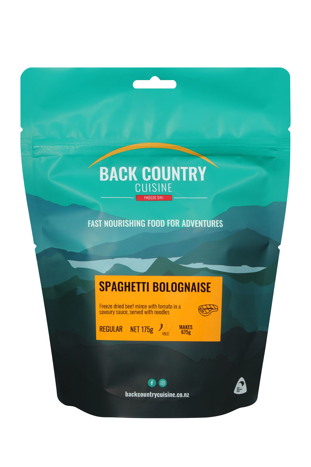 Back Country Spaghetti Bolognaise — Regular Serve, None, hi-res