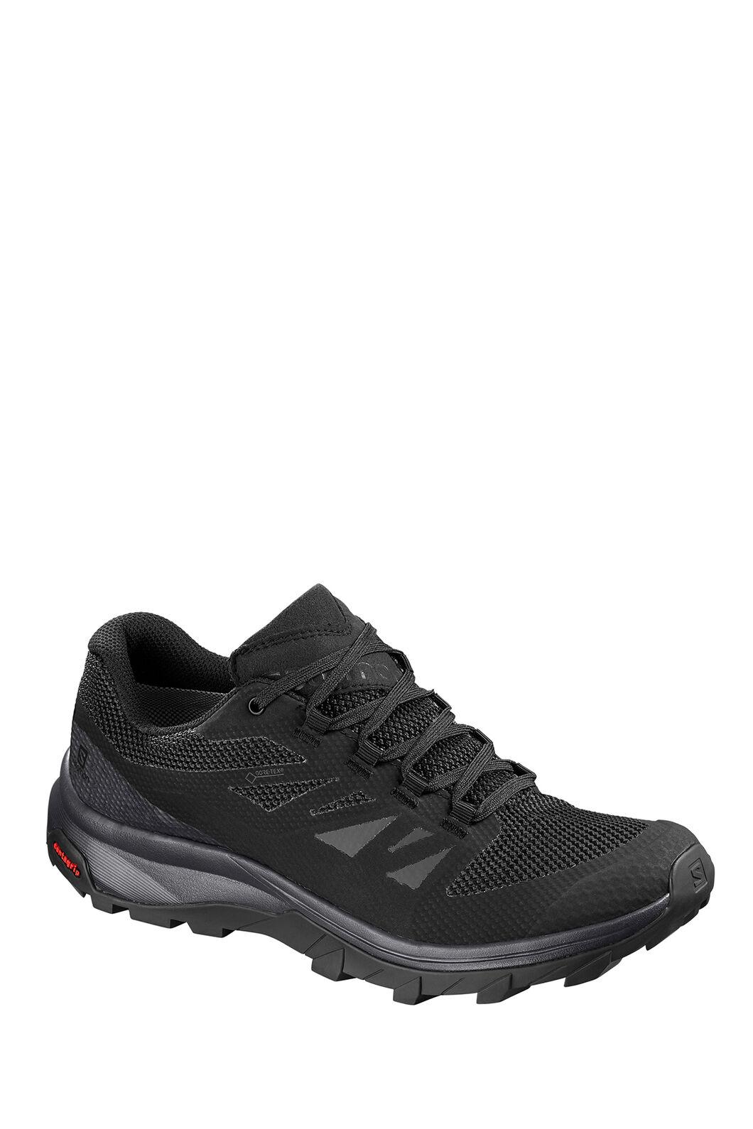 Salomon Outline GTX Hiking Shoes - Women's, Phantom/Black/Magnet, hi-res