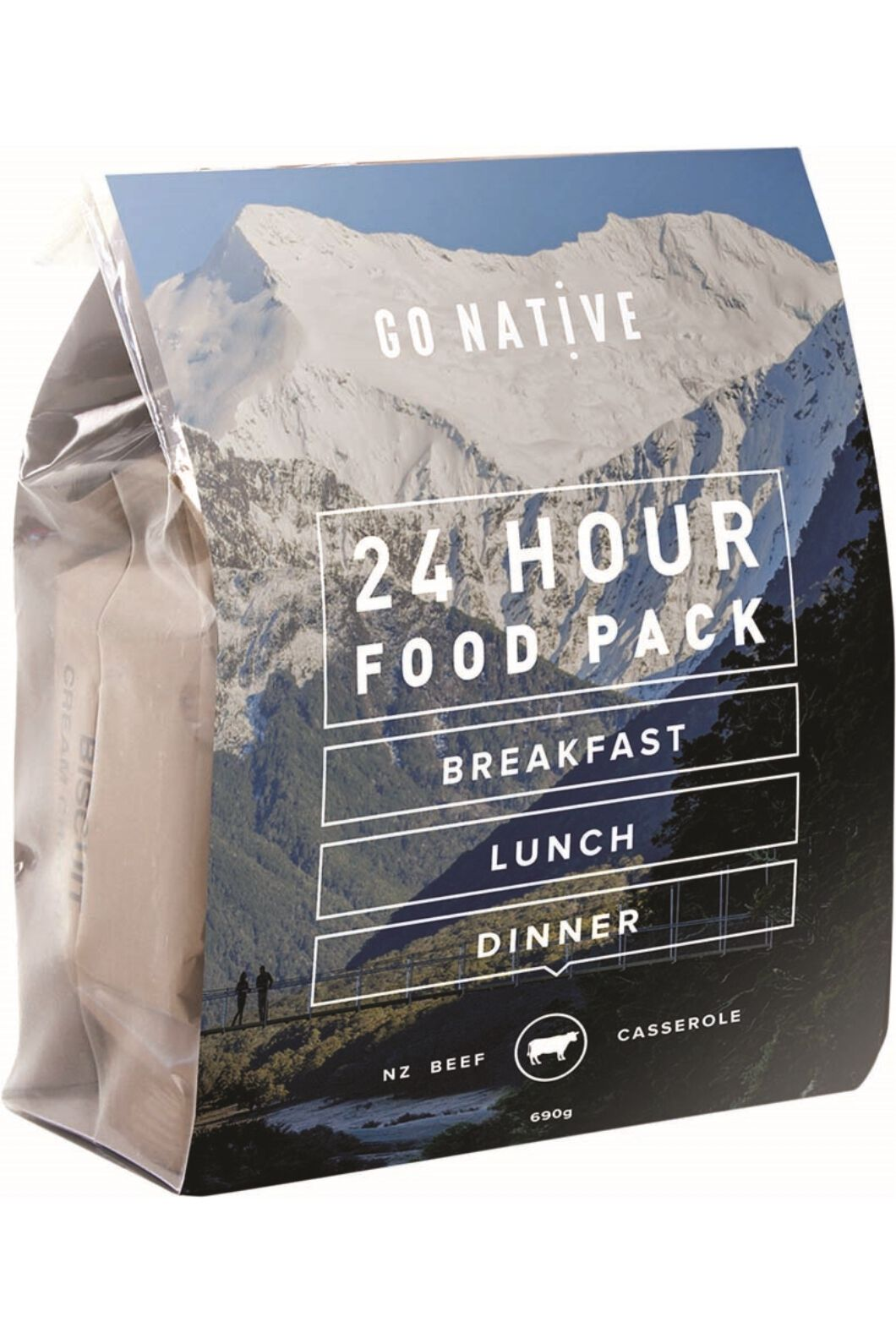 Go Native All Day Expedition Food - Beef Casserole, None, hi-res
