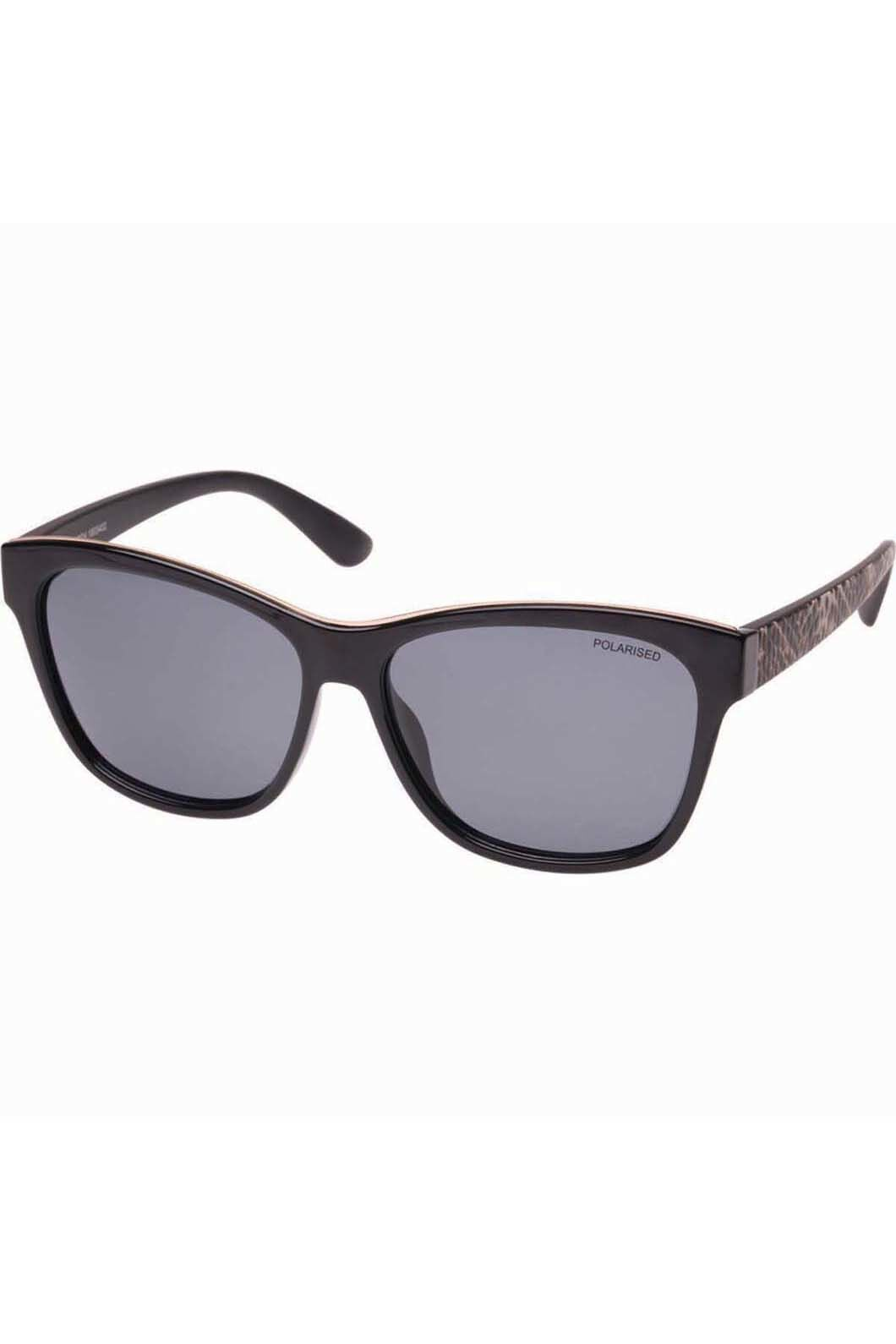 Cancer Council Women's Allworth Sunglasses One Size Fits Most, BLACK/REPTILE, hi-res