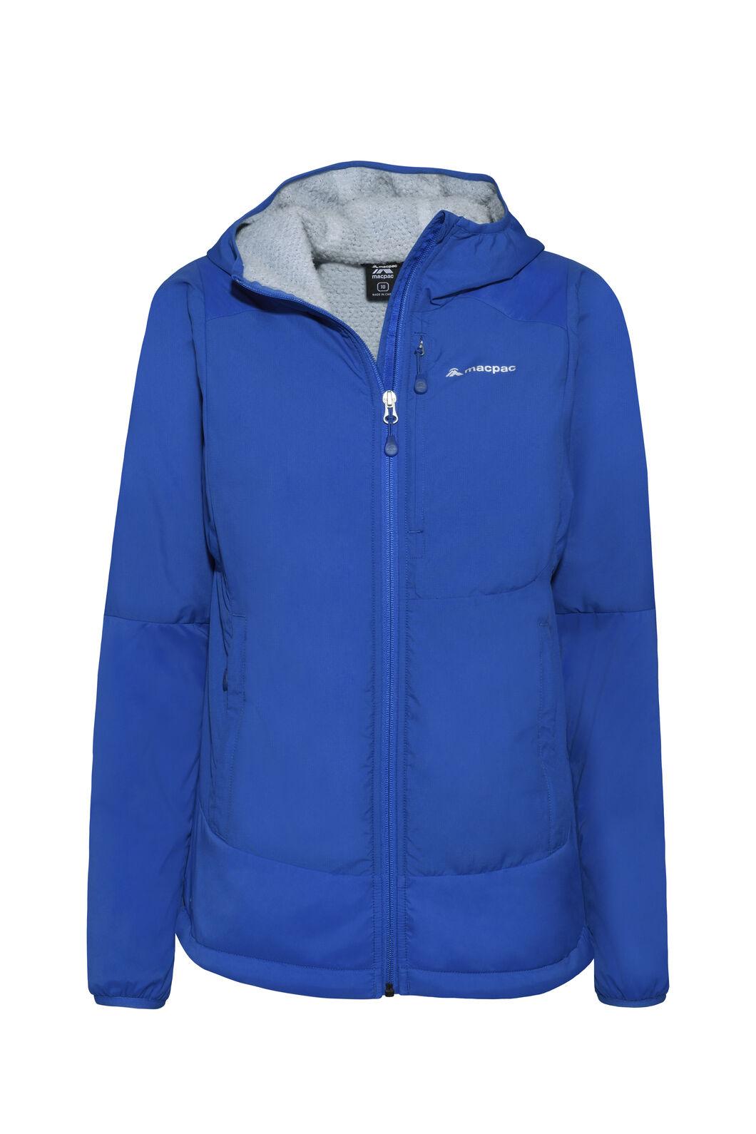Macpac Pisa Polartec® Hooded Jacket — Women's, Nautical Blue/Pearl, hi-res