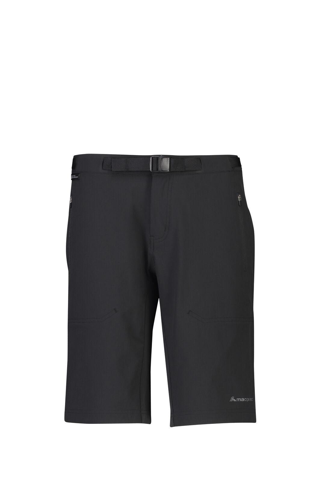 Macpac Trekker Pertex® Equilibrium Softshell Shorts — Women's, Black, hi-res