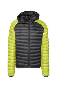 Macpac Icefall HyperDRY™ Hooded Jacket — Men's, Asphalt/Tendershoots, hi-res