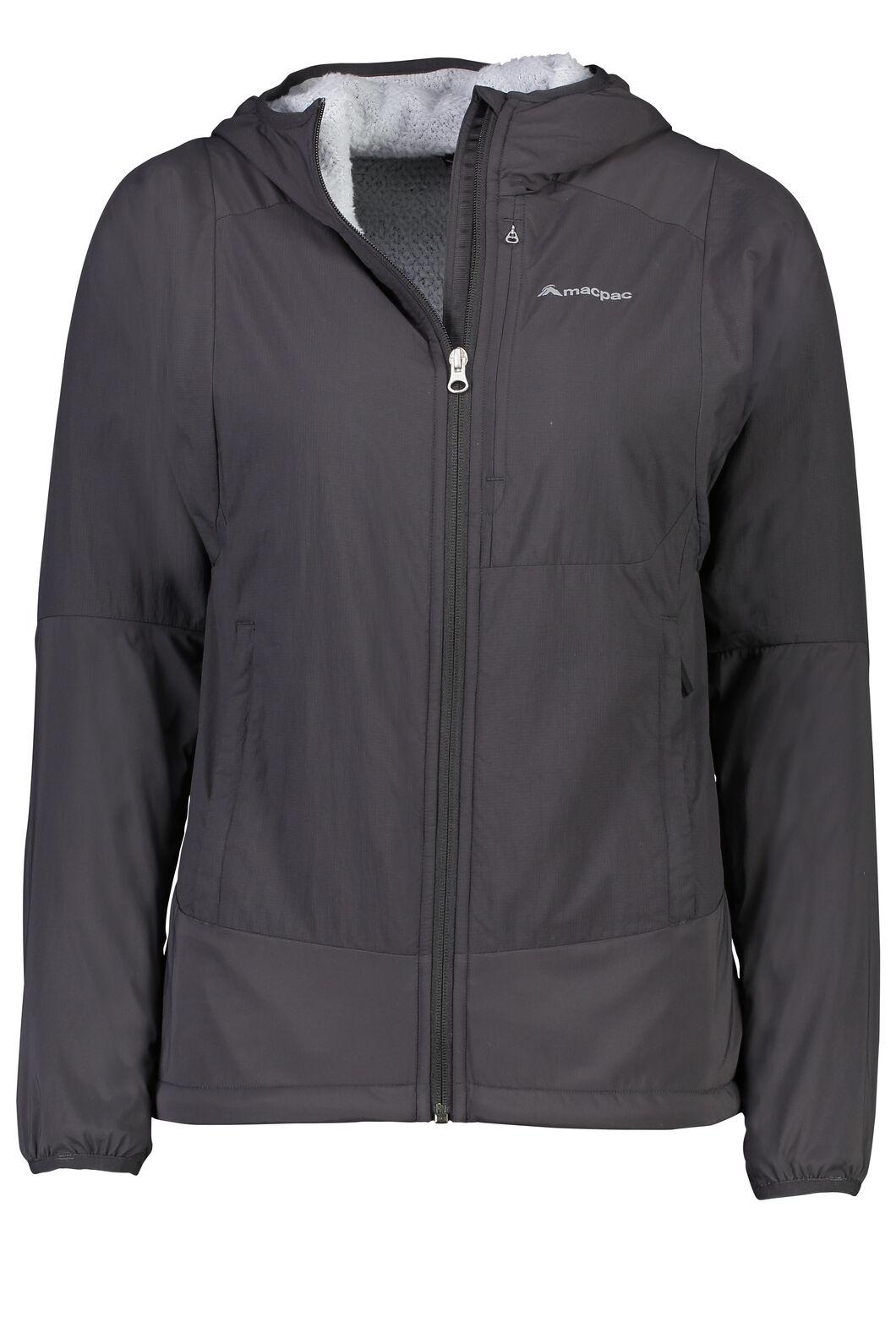 Macpac Pisa Polartec® Hooded Jacket - Women's, Phantom, hi-res