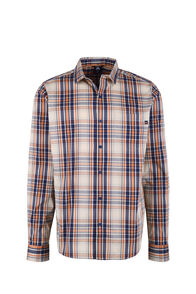 Macpac Crossroad Long Sleeve Shirt - Men's, Burnt Orange, hi-res