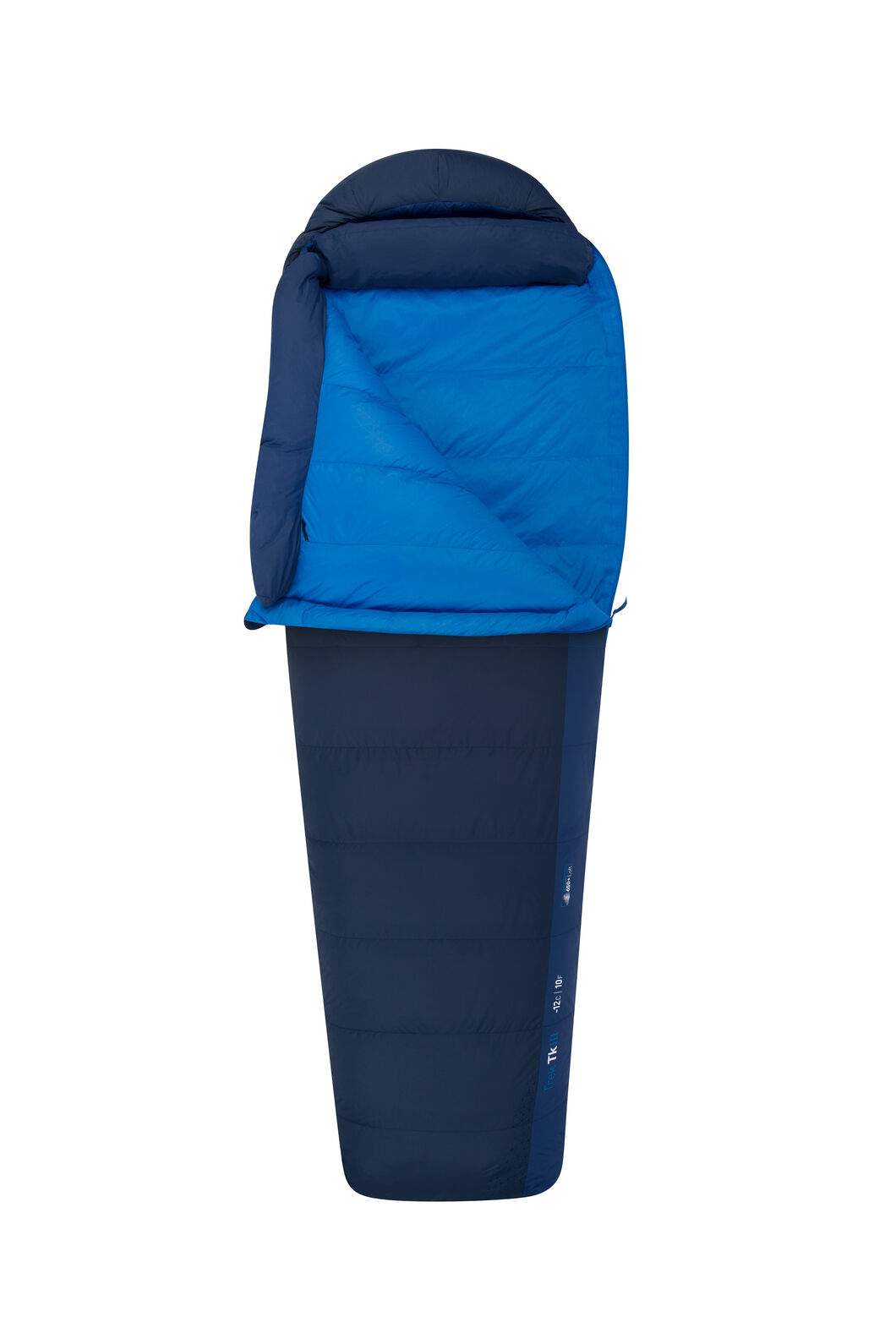 Sea to Summit Trek TKIII Sleeping Bag - Long, Blue, hi-res