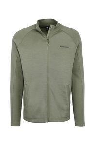 Macpac Men's Tennyson 320 Merino Jacket, Vetiver, hi-res