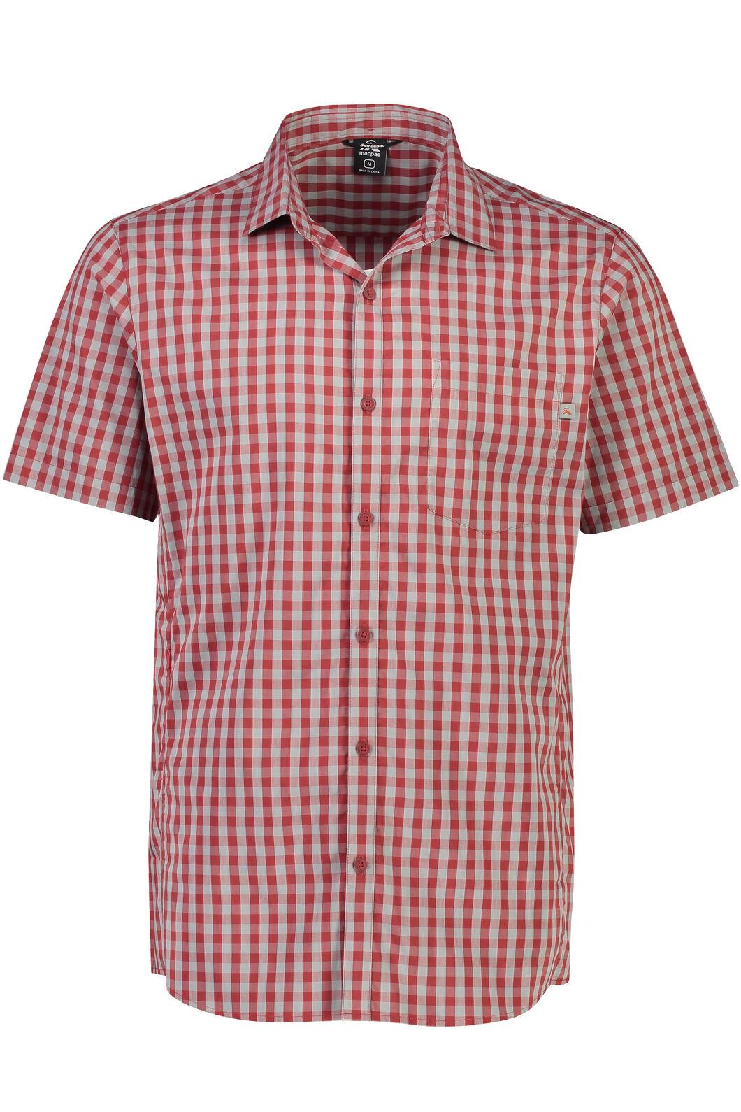 Crossroad Short Sleeve Shirt - Men's, Sundried Tomato, hi-res