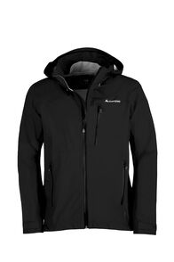 Macpac Traverse Pertex® Rain Jacket — Men's, Black, hi-res