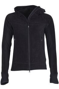 Mountain Hooded Pontetorto® Fleece Jacket - Women's, Black/Black, hi-res