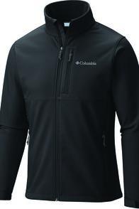 Columbia Men's Ascender Softshell Jacket, Black, hi-res