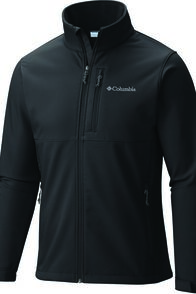 Columbia Men's Ascender Softshell Jacket, Black, hi-res