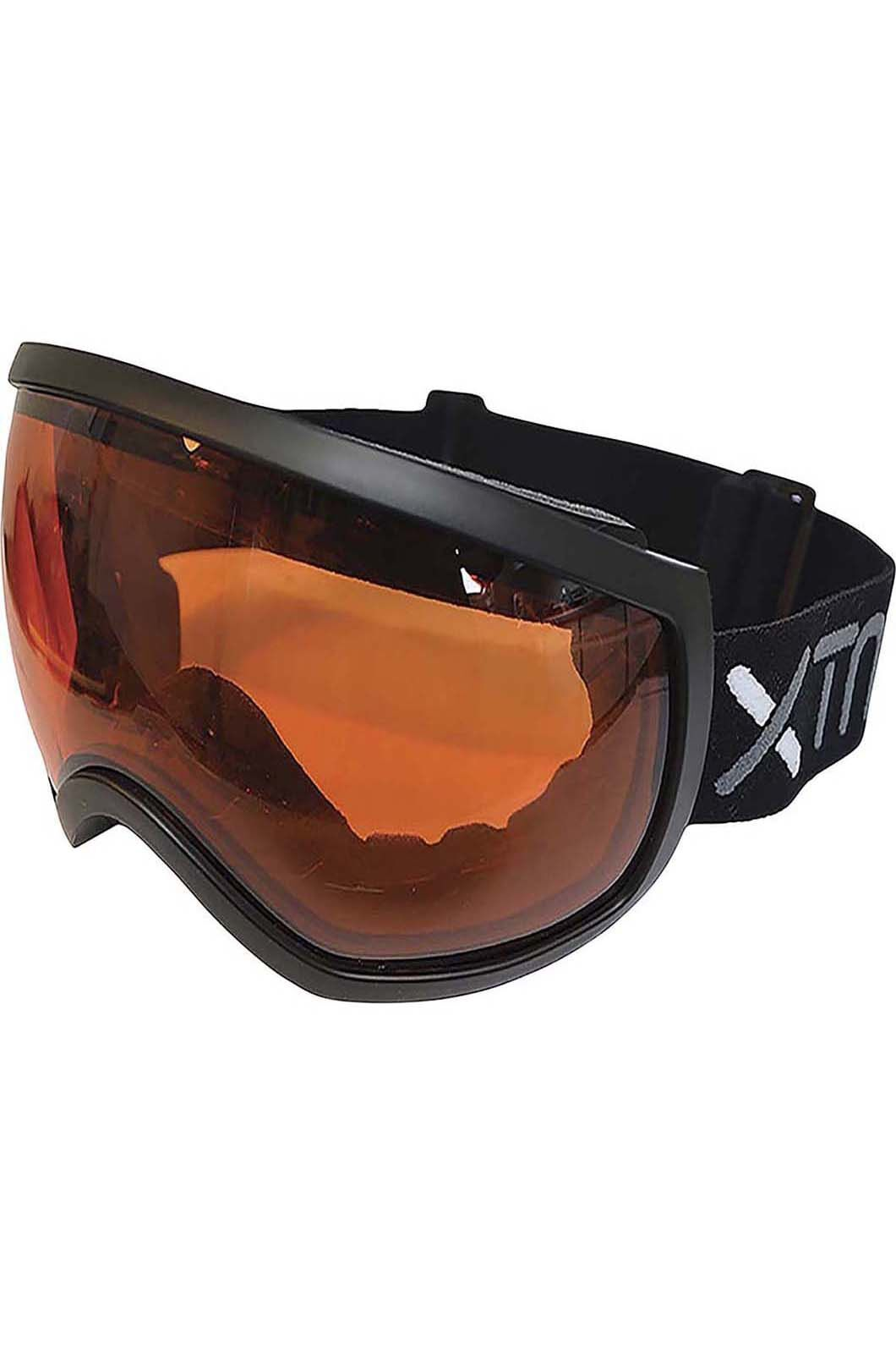 Force Unisex Double Lens Snow Goggles  One Size Fits Most, Black, hi-res