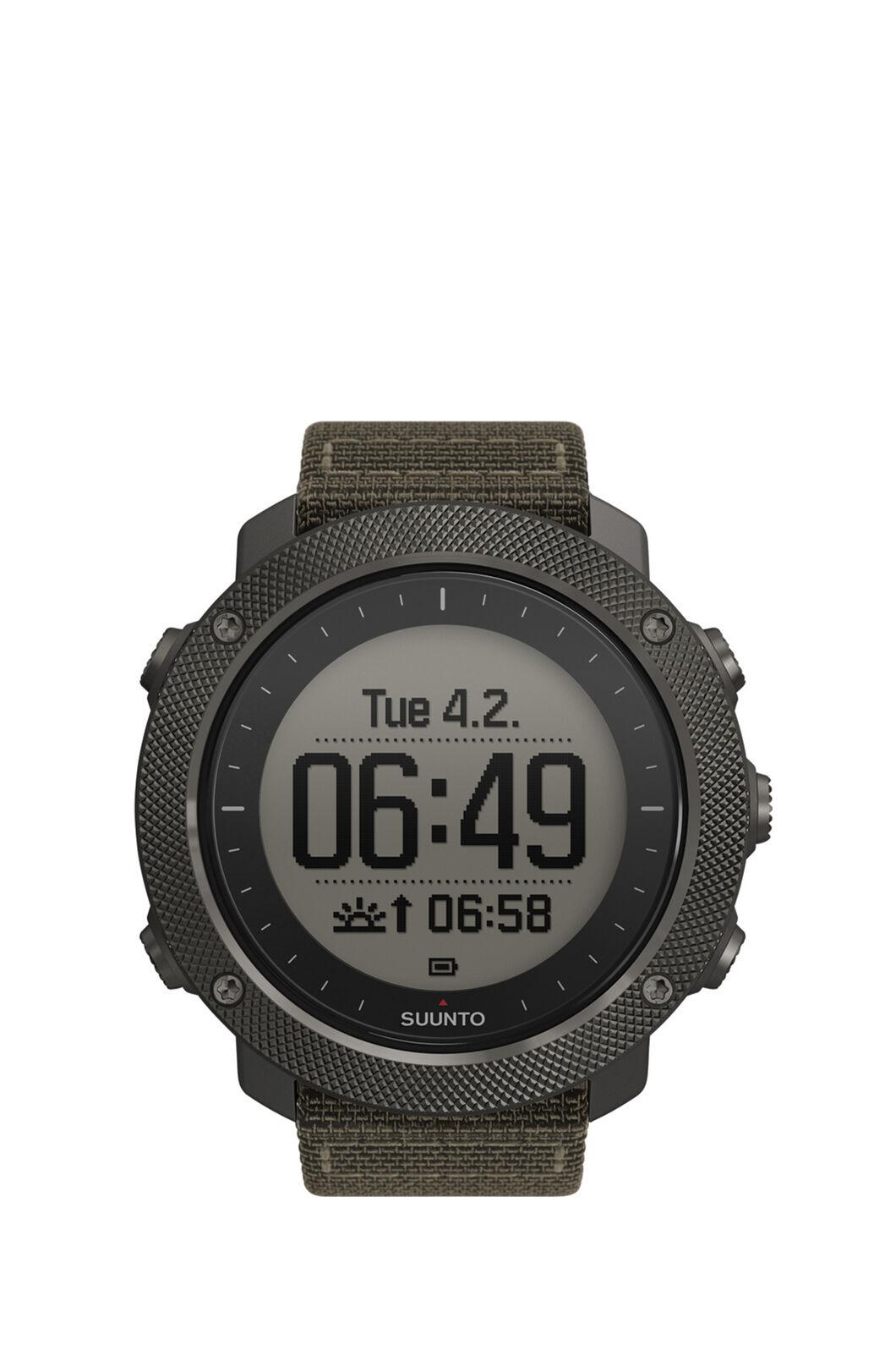 Suunto Traverse Alpha GPS Watch, FOLIAGE, hi-res