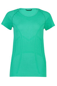 Macpac Limitless Short Sleeve Tee - Women's, Deep Green, hi-res