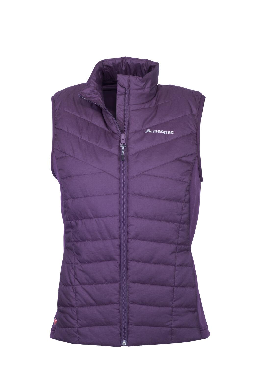 Macpac Strider Hybrid PrimaLoft® Vest — Women's, Blackberry Wine, hi-res