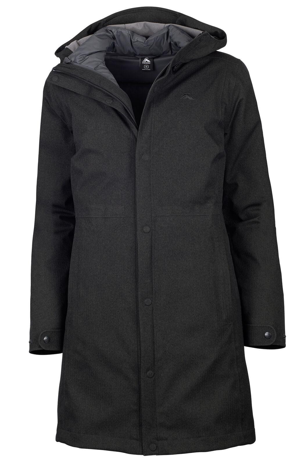 Macpac Element Three-In-One Coat - Women's, Black, hi-res