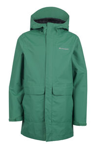 Macpac Lagoon Long Rain Jacket - Kids', Ultramarine, hi-res
