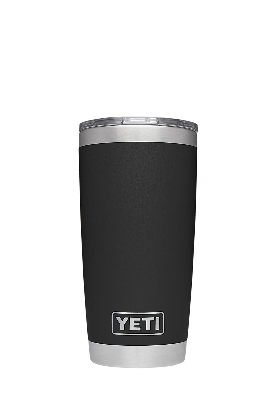 Yeti Rambler Tumbler Stainless Steel 20oz, Black, hi-res