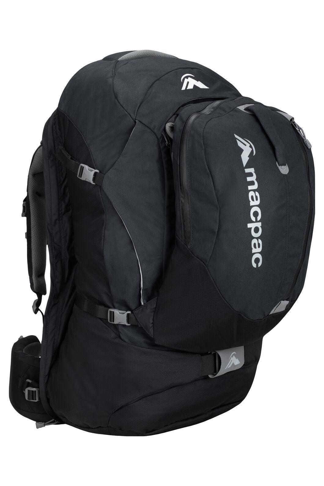 Macpac Gemini AzTec® 75L Pack, Black, hi-res