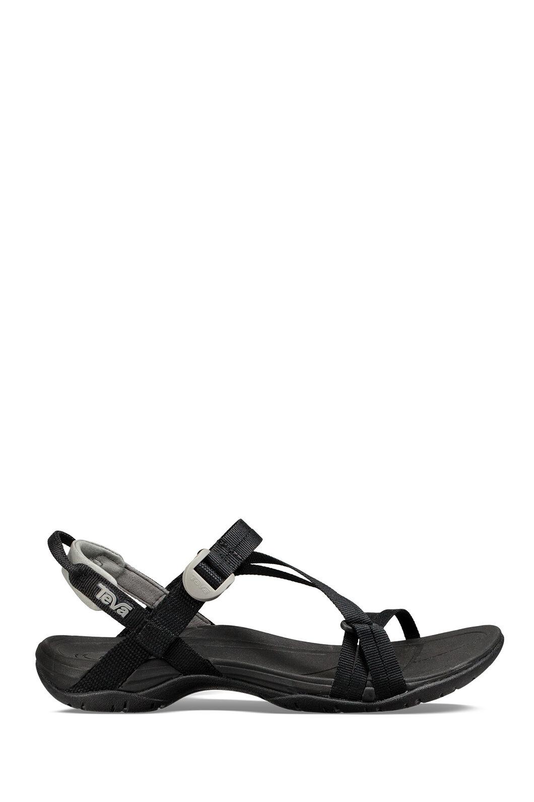 Teva Sirra Sandals — Women's, Black, hi-res